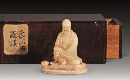 十七世纪尚均黄芙蓉罗汉香供