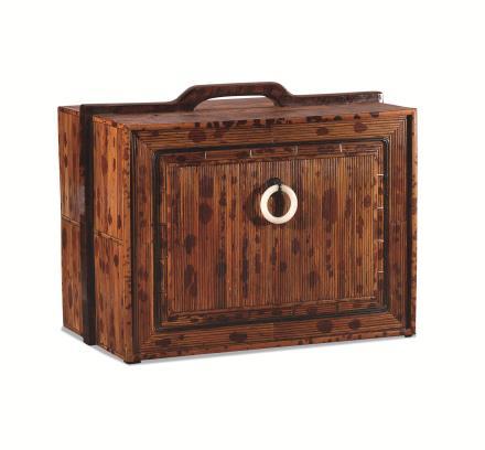 二十世纪香妃竹玉环书箱