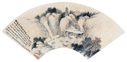 林纾 (1852-1924) 山中雅集1923年作