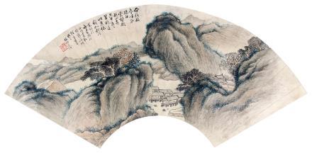 林纾 (1852-1924) 山居图