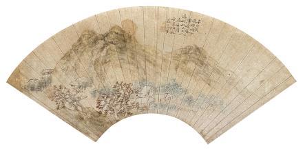 郭葆荪山水